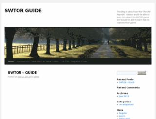 swtor-guide.biz screenshot