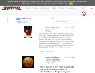 swtor.gameheadlines.com screenshot