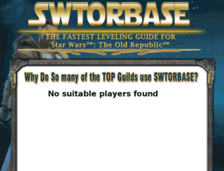 swtorbase.com screenshot