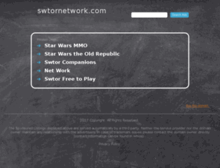 swtornetwork.com screenshot