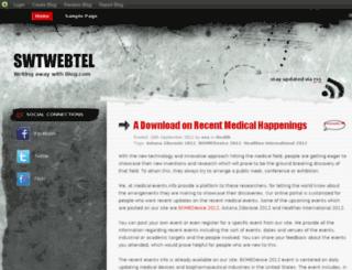 swtwebtel.blog.com screenshot