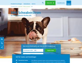 swu-schwabenstrom.de screenshot