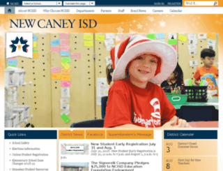 sww.newcaneyisd.org screenshot