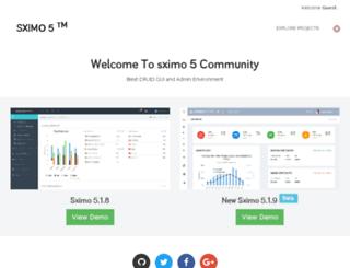 sximobuilder.com screenshot