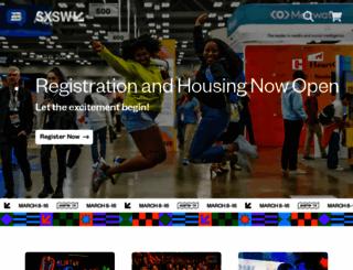 sxsw.com screenshot