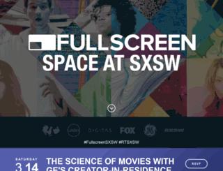 sxsw.fullscreen.com screenshot