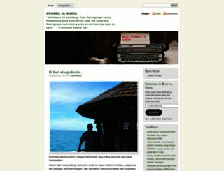 syahrilkadir.wordpress.com screenshot