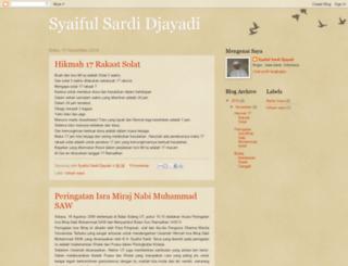 syaifulsardi.blogspot.com screenshot