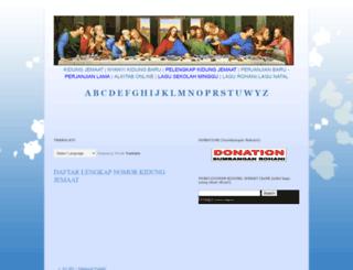 syairkidungjemaat.blogspot.com screenshot