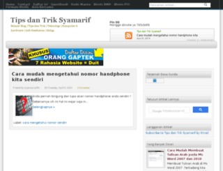 syamarif.blogspot.com screenshot