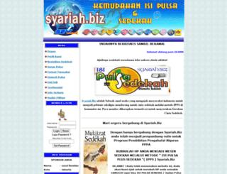 syariah.biz screenshot