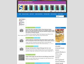 syarifcollectionsolo.blogspot.com screenshot