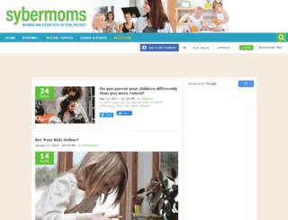 sybermoms.com screenshot