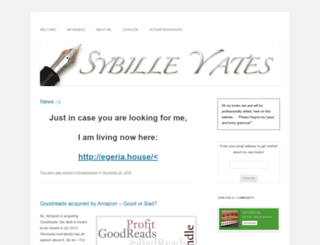 sybilleyates.com screenshot
