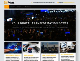 sybrant.com screenshot