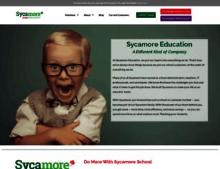 sycamoreeducation.com screenshot