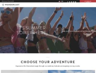 syd.wanderlustfestival.com screenshot