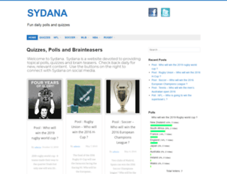 sydana.com screenshot