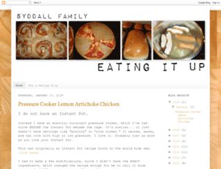 syddallfamilyeatingitup.blogspot.com screenshot
