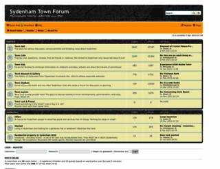 sydenham.org.uk screenshot