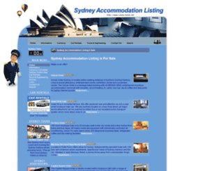 sydney-hotels.net screenshot