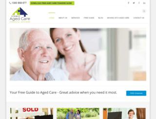 sydneyagedcarefinancialadvisers.com.au screenshot