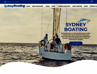 sydneyboating.com.au screenshot