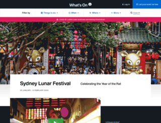sydneychinesenewyear.com screenshot