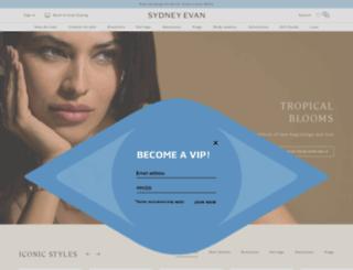 sydneyevan.com screenshot