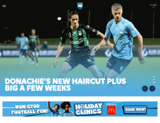 sydneyfc.com screenshot