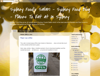sydneyfoodssafari.blogspot.com.au screenshot
