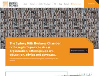 sydneyhillsbusiness.com.au screenshot