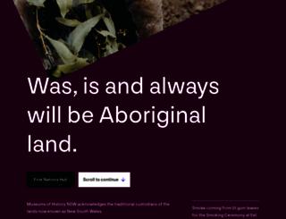 sydneylivingmuseums.com.au screenshot