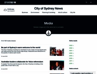 sydneymedia.com.au screenshot