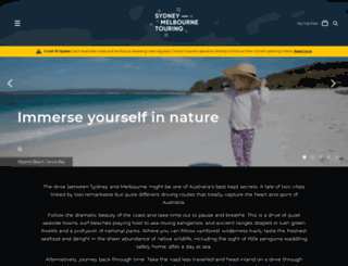 sydneymelbournetouring.com.au screenshot
