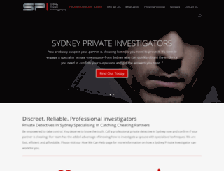 sydneyprivateinvestigators.com screenshot