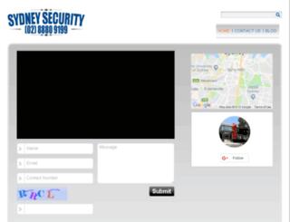 sydneysecurity.net screenshot