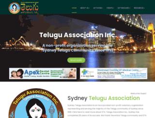 sydneytelugu.org screenshot