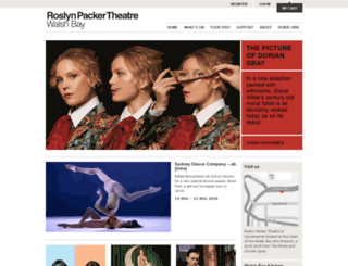 sydneytheatre.org.au screenshot