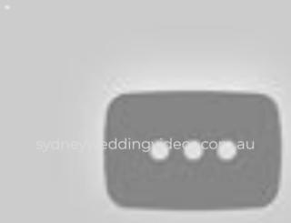 sydneyweddingvideos.com.au screenshot