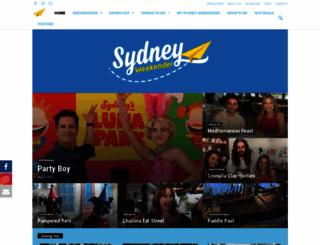sydneyweekender.com.au screenshot