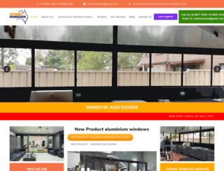 sydneywindows.com.au screenshot