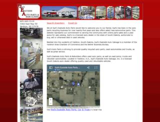 sydsautoparts.com screenshot