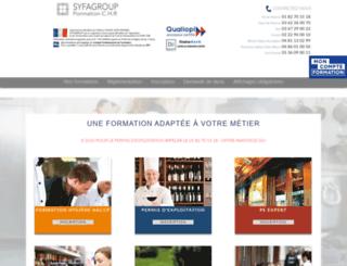 syfagroup.com screenshot