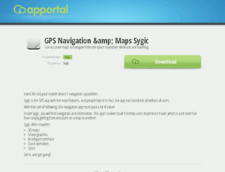 sygic-gps-navigation.apportal.co screenshot