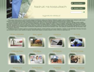 sygnatura-sklep.pl screenshot