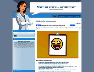 sykepleie.net screenshot