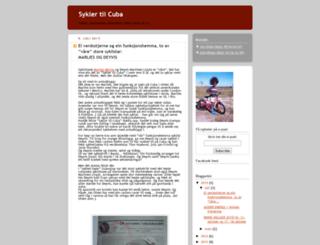 syklertilcuba.org screenshot