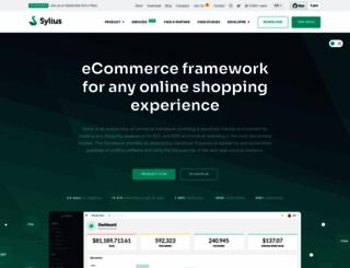 sylius.com screenshot