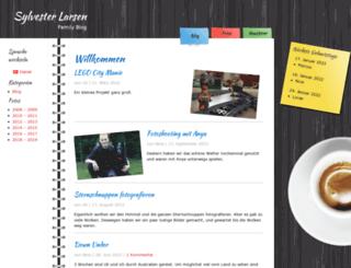 sylvester-larsen.com screenshot